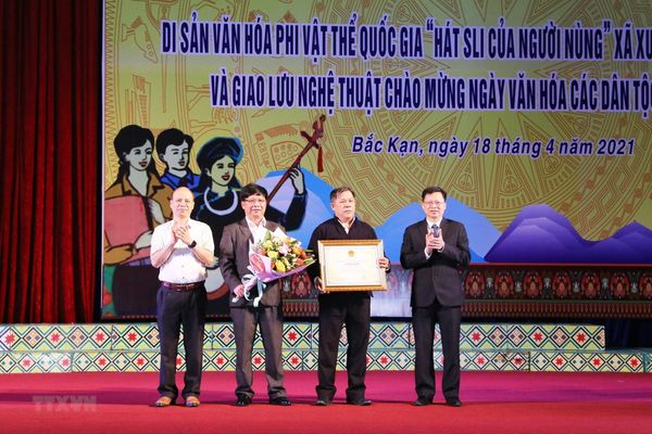 Hát Sli của người Nùng - Di sản văn hóa phi vật thể quốc gia