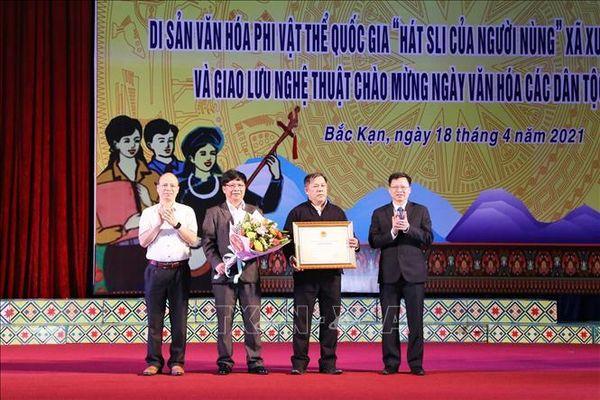 Bảo tồn di sản văn hóa phi vật thể quốc gia 'Hát Sli của người Nùng'