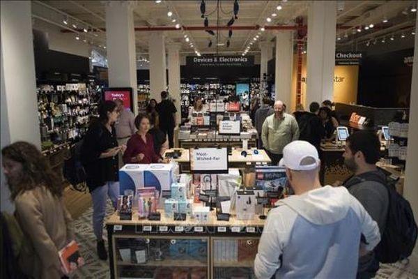 Doanh số bán lẻ của Mỹ tăng mạnh