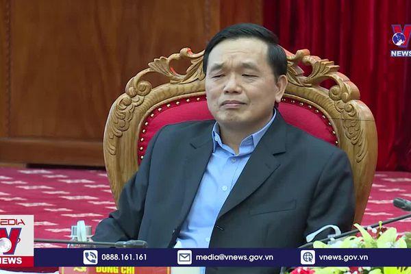 Kiểm tra công tác bầu cử tại Cao Bằng