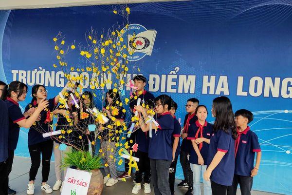 Ngày hội Văn hóa đọc Trường Đoàn Thị Điểm Hạ Long