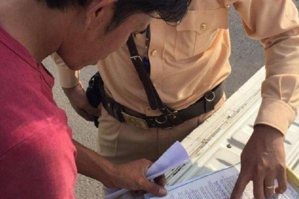 Quảng Trị: Phạt chủ xe Tài Lộc Phát 34 triệu vì chở quá tải