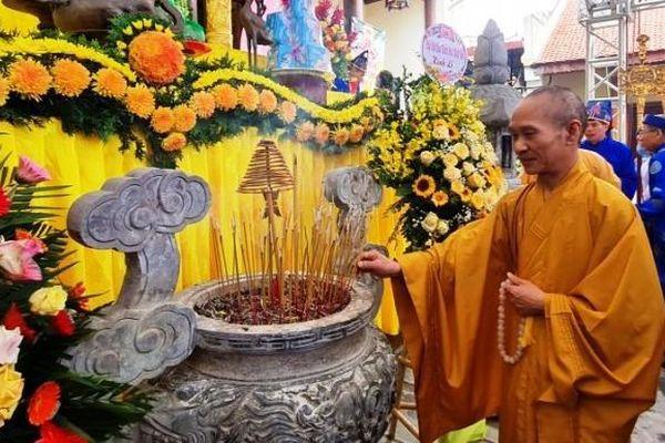 Hà Nội: Lễ hội truyền thống chùa Duệ Tú, tưởng nhớ thiền sư Giác Hoàng Đại Điên