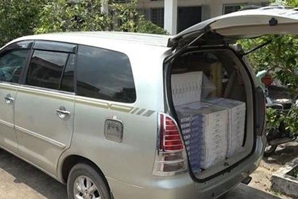 Liên tiếp phát hiện 3 vụ vận chuyển 8.990 gói thuốc lá lậu