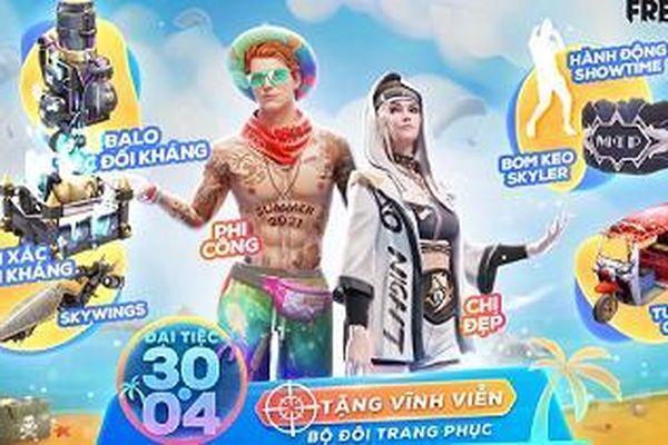 Những món quà cực khủng game thủ sẽ nhận tại sự kiện 30/4, hé lộ 2 mỹ nam tranh đoạt 'Nam Vương Free Fire'