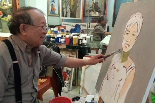NSND, họa sĩ Doãn Châu: Vẽ trong ký ức mộng du