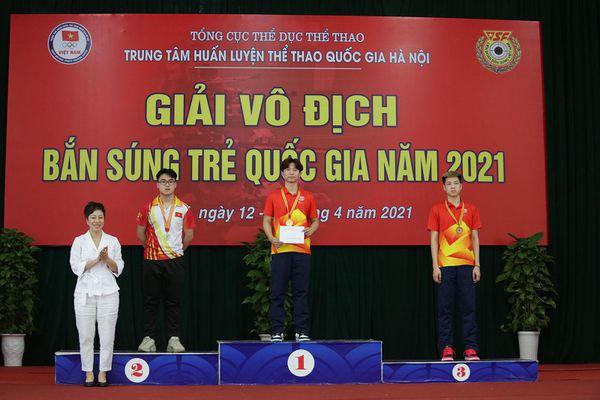 17 kỷ lục trẻ quốc gia được phá tại Giải vô địch Bắn súng trẻ quốc gia