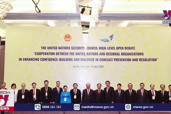 Việt Nam chủ trì phiên thảo luận cấp cao của Liên hợp quốc