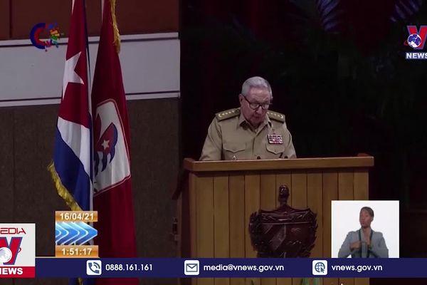 Đại hội lần thứ VIII Đảng Cộng sản Cuba: Đồng chí M.Diaz-Canel được bầu làm Bí thư thứ nhất