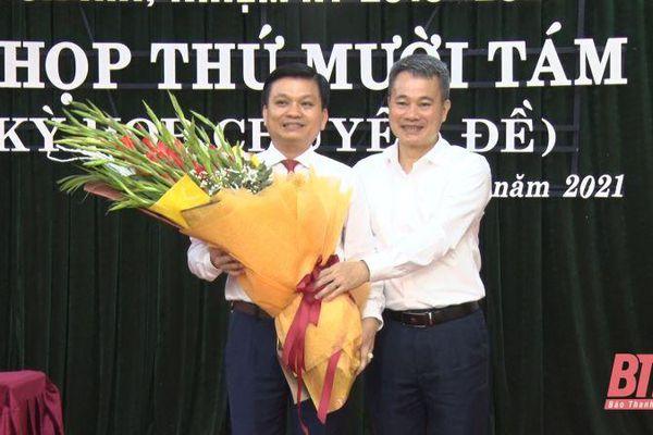 Nghi Sơn có tân Chủ tịch HĐND thị xã