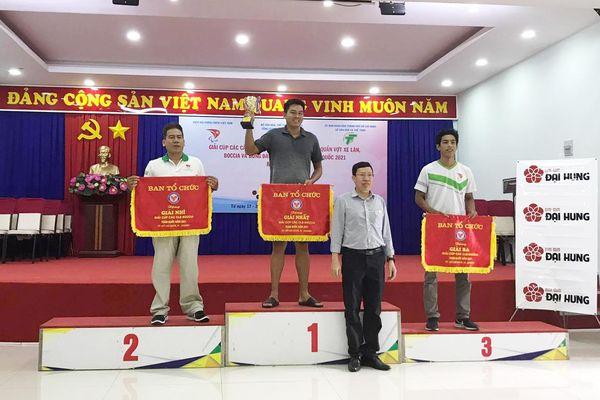 Đồng Nai xếp hạng nhất Giải Cúp các CLB boccia toàn quốc 2021