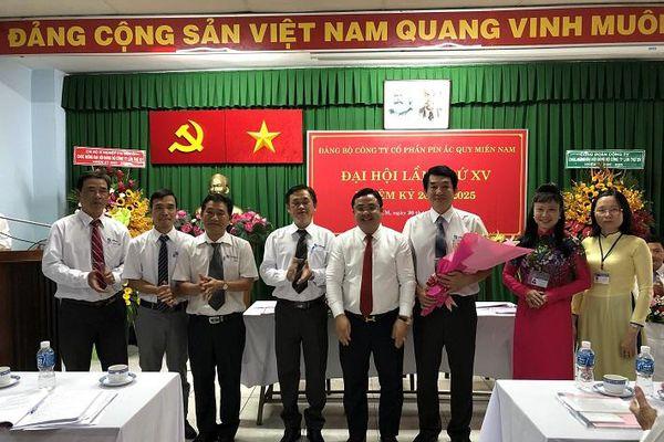 Công tác phát triển Đảng tại Công ty CP Pin Ắc quy Miền Nam - Kim chỉ nam cho thành công của doanh nghiệp