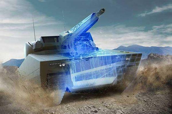 Xe tăng tương lai của châu Âu mang trọng pháo 'vượt trội T-14 Armata'