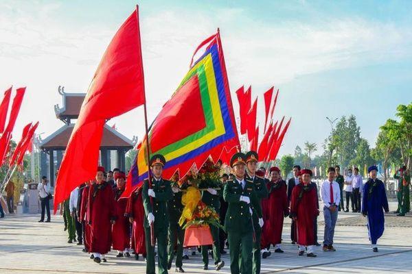 Cần Thơ tổ chức Lễ Giỗ Tổ Hùng Vương tại Đền thờ Vua Hùng