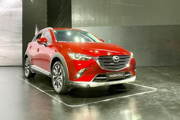 Cận cảnh SUV đô thị Mazda CX-3 vừa ra mắt Việt Nam