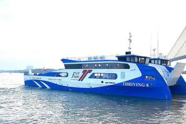 Sắp có tàu cao tốc TP.HCM đi Côn Đảo