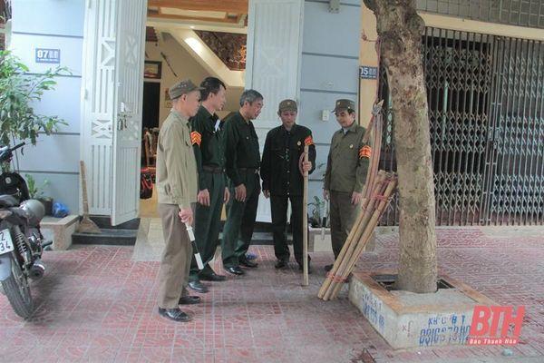 Ông Lê Trọng Quang - cựu chiến binh tâm huyết với phong trào hội