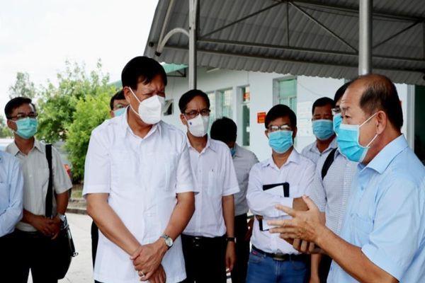 Bộ Y tế kiểm tra công tác phòng chống COVID-19 ở Đồng Tháp
