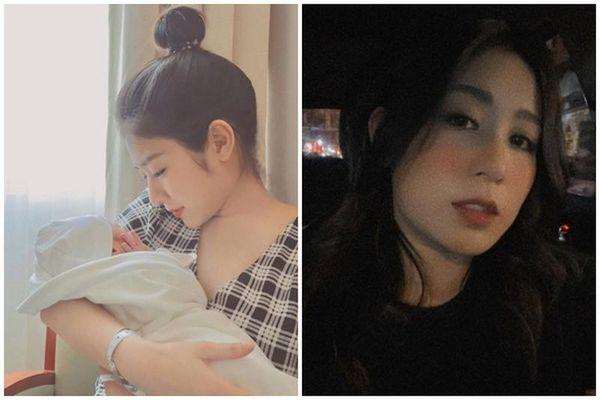 Ở cữ vẫn xinh xuất sắc, Trang Lou khiến hội mẹ bỉm 'phát ghen'