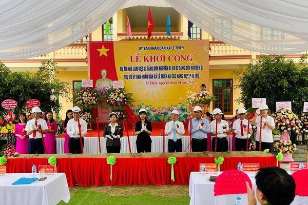 Hải Phòng: Huyện An Dương khởi công 20 dự án chào mừng ngày bầu cử Quốc hội