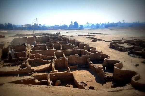 Tìm thấy 'thành phố vàng đã mất' 3.500 năm tuổi