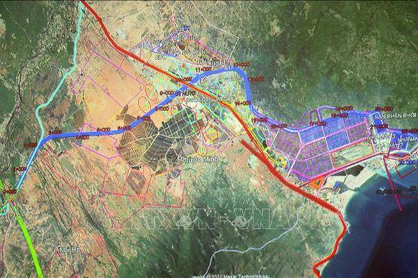 Khảo sát dự án đường nối cao tốc Bắc - Nam với Quốc lộ 1A và cảng Cà Ná