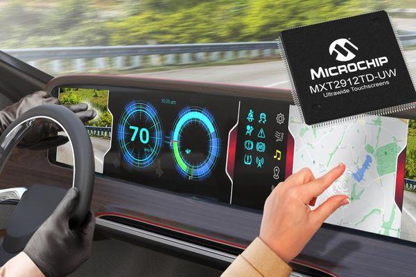 Chip đầu tiên đủ điều kiện sử dụng trên ô tô dành cho màn hình cảm ứng lớn