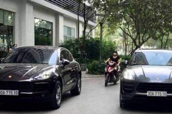 Cảnh sát truy tìm nam tài xế siêu xe Porsche trùng biển số ở Times City