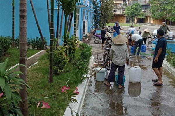 Chủ động các giải pháp cấp nước sạch hè 2021