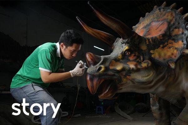Chàng trai bỏ đại học, mở xưởng in 3D ở TP.HCM