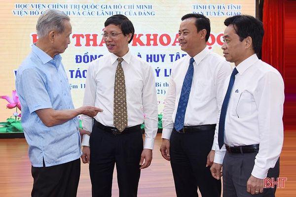 Noi gương Tổng Bí thư Hà Huy Tập, Hà Tĩnh quyết tâm làm tốt công tác giáo dục chính trị, tư tưởng