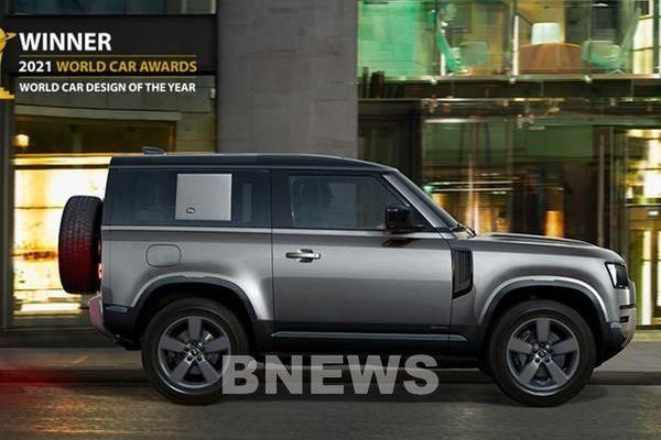 Land Rover Defender được vinh danh là thiết kế ô tô của năm 2021