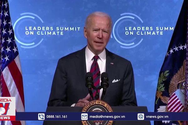 Mỹ cam kết tăng gấp đôi viện trợ chống biến đổi khí hậu