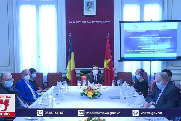 Nhiều doanh nghiệp Bỉ quan tâm đến thị trường Việt Nam