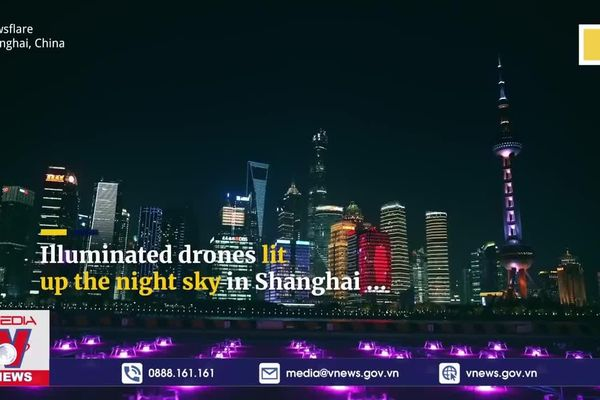 Quảng cáo game bằng 1500 chiếc drone