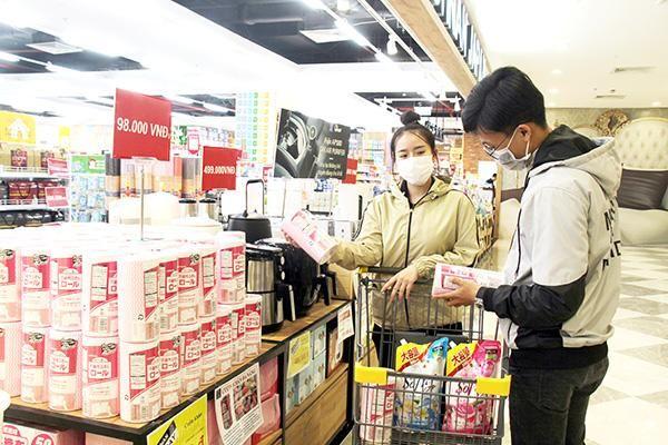 Hàng tiêu dùng Nhật ''đổ bộ'' thị trường Việt