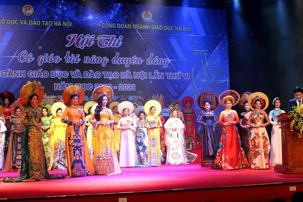 45 nhà giáo Hà Nội tham gia hội thi Cô giáo tài năng duyên dáng