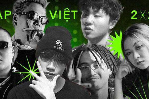 Dàn rapper tài năng được kỳ vọng sẽ làm nên kỳ tích như Ricky Star tại 'Rap Việt 2021'