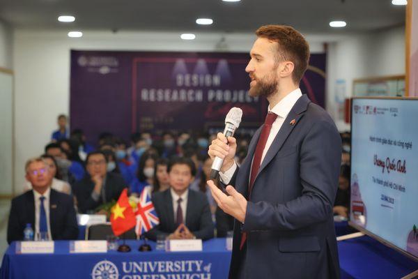 Phó tổng lãnh sự Anh: Quan hệ Việt - Anh khăng khít hơn bao giờ hết