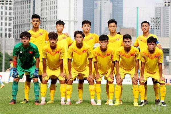 ĐT U18 Việt Nam hòa CLB Hải Nam Vĩnh Phúc trong đợt hội quân lần thứ hai
