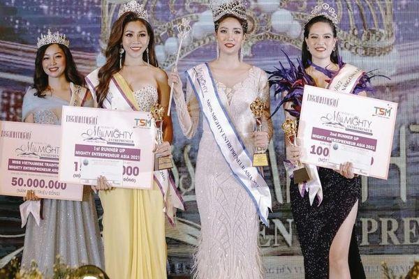Hoa hậu Doanh nhân Toàn năng châu Á 2021: Bông hồng Tài năng Lê Mai Linh hội ngộ dàn doanh nhân 'cực phẩm'