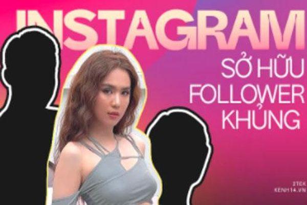 Top 5 người có lượng follow khủng nhất Instagram Việt: Ngọc Trinh rất hot nhưng chỉ đứng 2, ai mới là người đầu bảng?