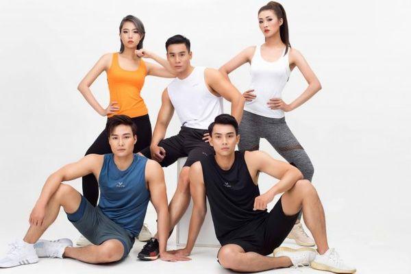 Dàn sao Vietnam Fitness Model tung bộ ảnh mãn nhãn cổ động mùa giải 2021