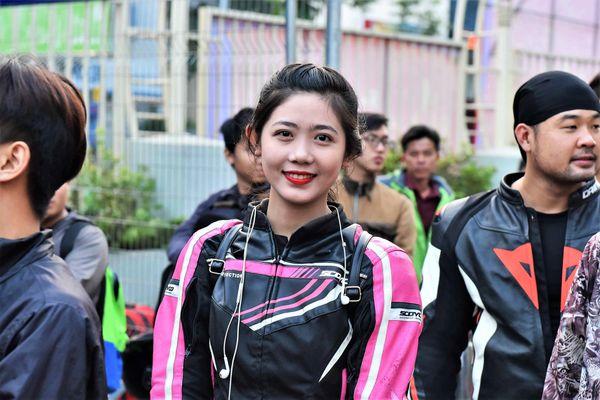 Những cô gái nổi bật trong làng đua xe Việt Nam