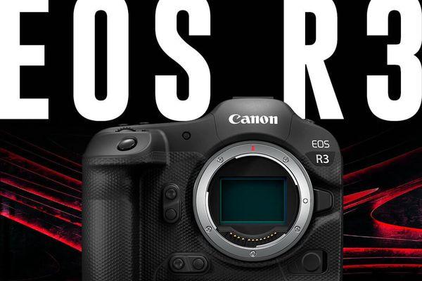 Máy ảnh không gương lật full-frame EOS R3 sắp lộ diện?