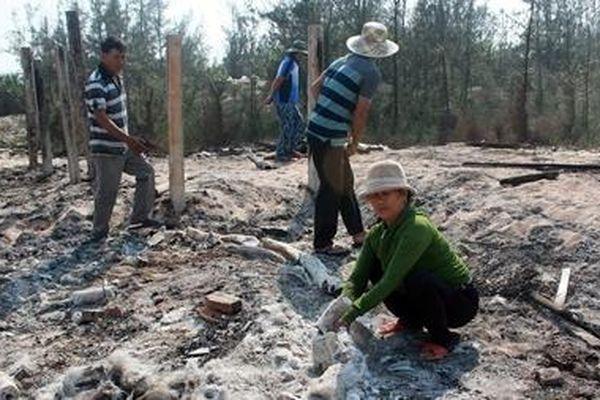3 lán trại chứa ngư lưới cụ bất ngờ phát hỏa trong đêm