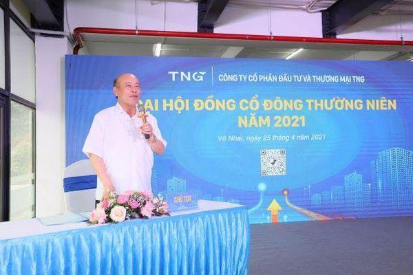 ĐHCĐ TNG: Duy trì ngành lõi, mở rộng thêm bất động sản công nghiệp