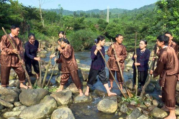 Hò thuốc cá huyện Minh Hóa là Di sản văn hóa phi vật thể quốc gia