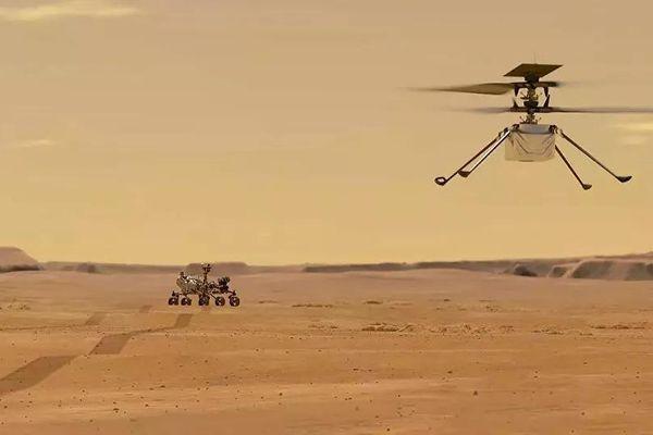 Trực thăng không người lái của NASA xác lập kỷ lục bay trên sao Hỏa