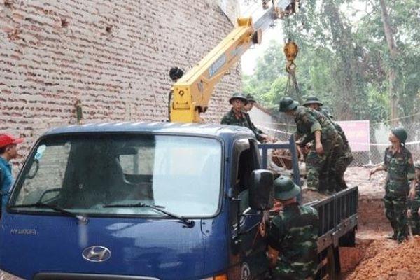 Xử lý thành công quả bom 'khủng' phát hiện tại TP Vĩnh Yên
